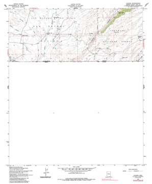 Lochiel topo map