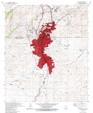 Nogales topo map