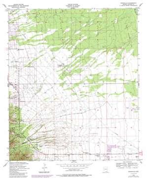 Nicksville topo map
