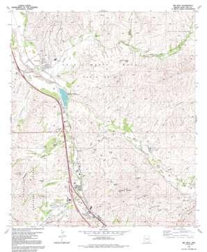 Rio Rico topo map