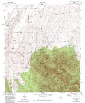 Pyeatt Ranch topo map