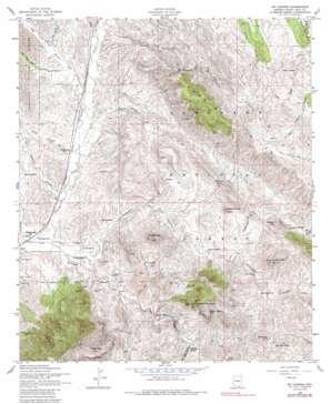 Mount Hughes topo map