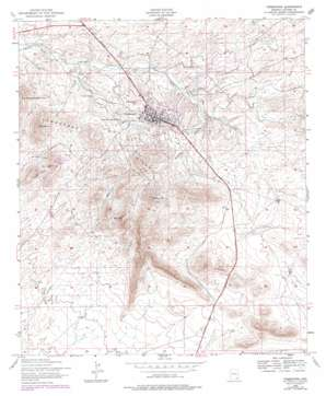 Tombstone topo map
