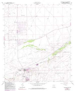 Huachuca City USGS topographic map 31110f3