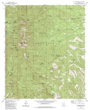 Mount Wrightson topo map