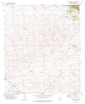 Haberstock Hill topo map