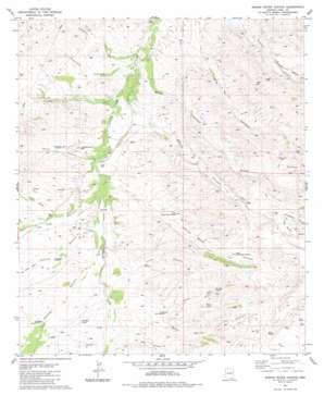 Spring Water Canyon topo map