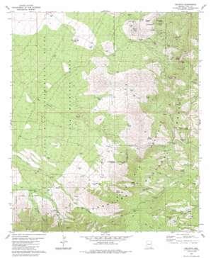 Helvetia topo map