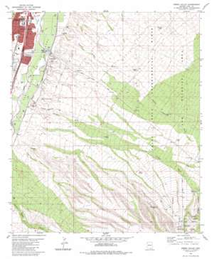Green Valley topo map