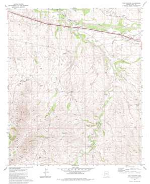 The Narrows USGS topographic map 31110h5