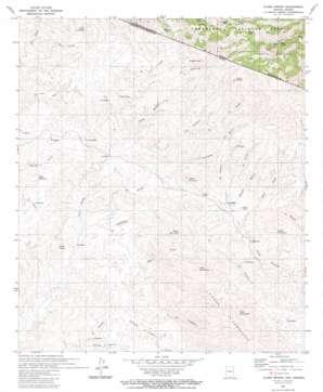 Alamo Spring USGS topographic map 31111c2
