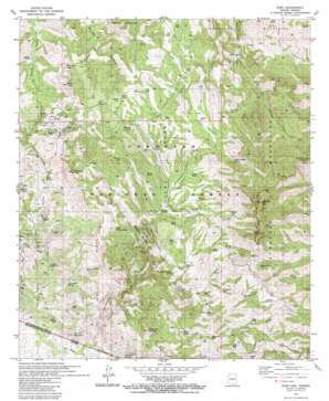Ruby topo map