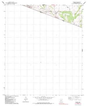 Sasabe topo map