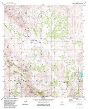 Arivaca topo map