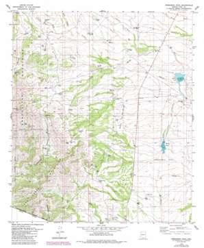 Presumido Peak USGS topographic map 31111e5