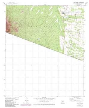 San Miguel topo map