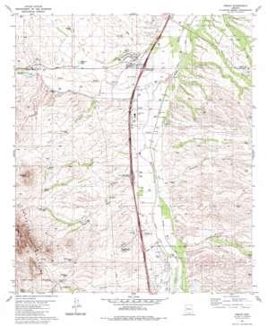 Amado USGS topographic map 31111f1