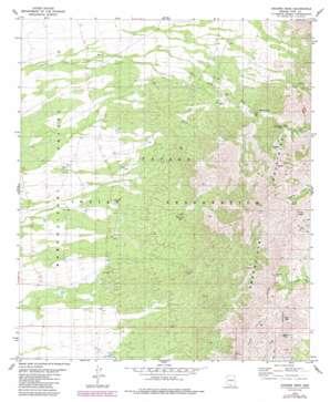Aguirre Peak USGS topographic map 31111f6