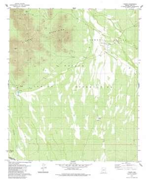Vamori topo map