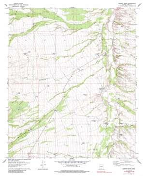 Fresno Wash topo map