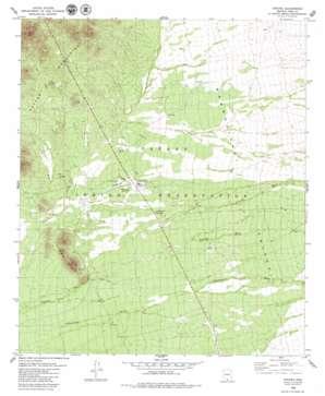 Topawa topo map