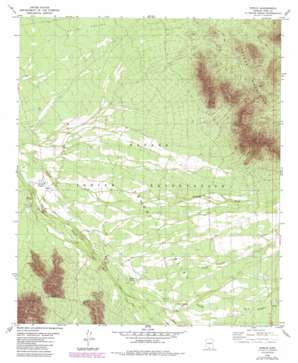 Cowlic USGS topographic map 31111g8