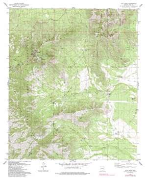Kitt Peak topo map
