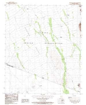 Tecolote Ranch topo map