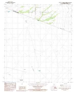South Of Papago Farms topo map