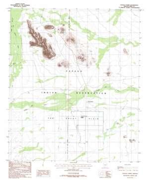 Papago Farms topo map