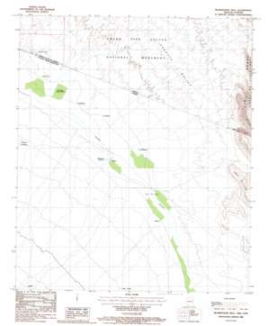 Blankenship Well topo map
