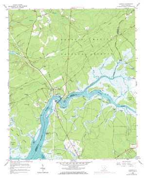 Cainhoy USGS topographic map 32079h7