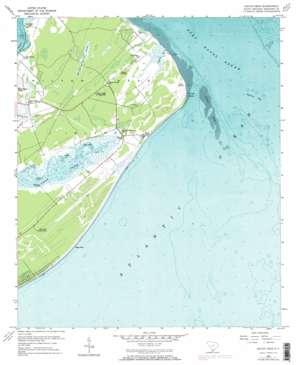 Hilton Head topo map