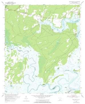 Pritchardville topo map