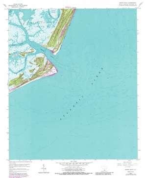Fripp Inlet USGS topographic map 32080c4