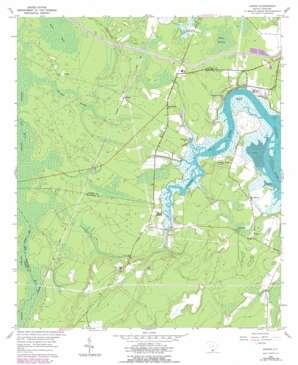 Jasper topo map