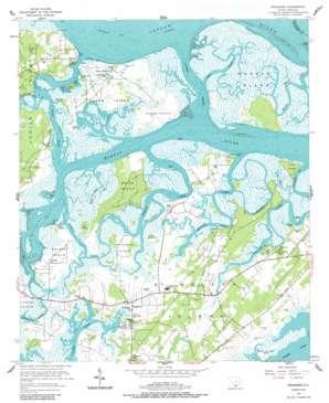 Frogmore topo map