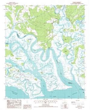 Wiggins topo map