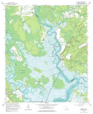 Fenwick topo map