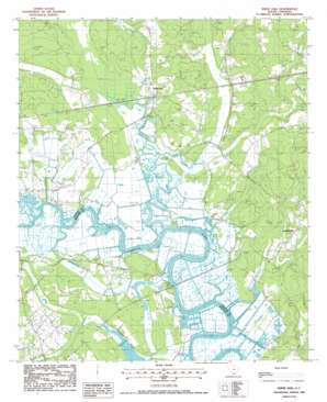 Whitehall topo map
