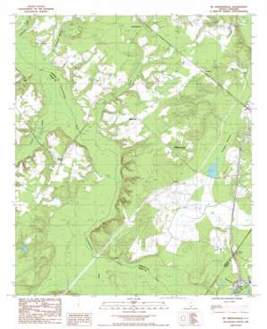 Mcphersonville topo map