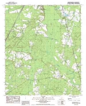 Hendersonville USGS topographic map 32080g6