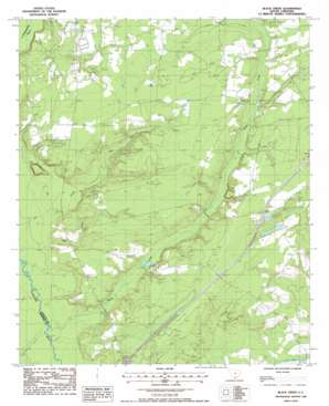 Black Creek topo map