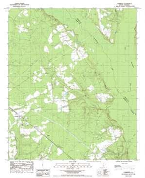 Cummings topo map