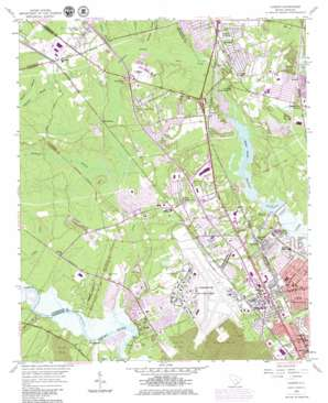 Ladson topo map