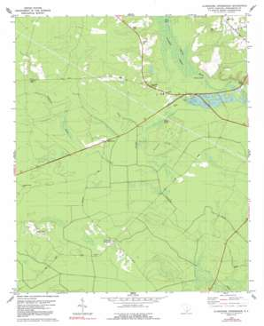 Clubhouse Crossroads topo map