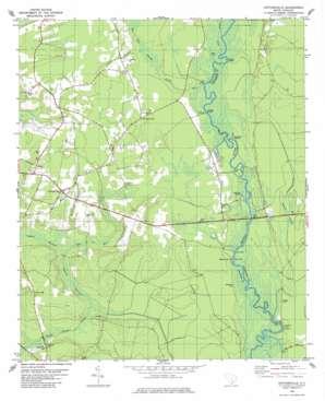 Cottageville topo map