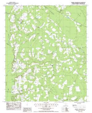 Sniders Crossroads USGS topographic map 32080h7
