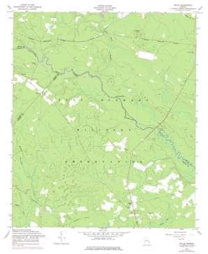 Willie topo map