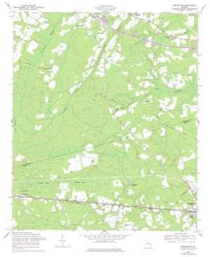Groveland topo map